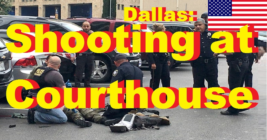 Dallas Shooting at Courthouse