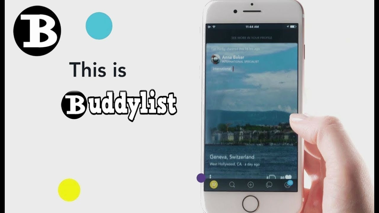 Buddylist Social Network   a Facebook  Twitter Alternative without Censorship