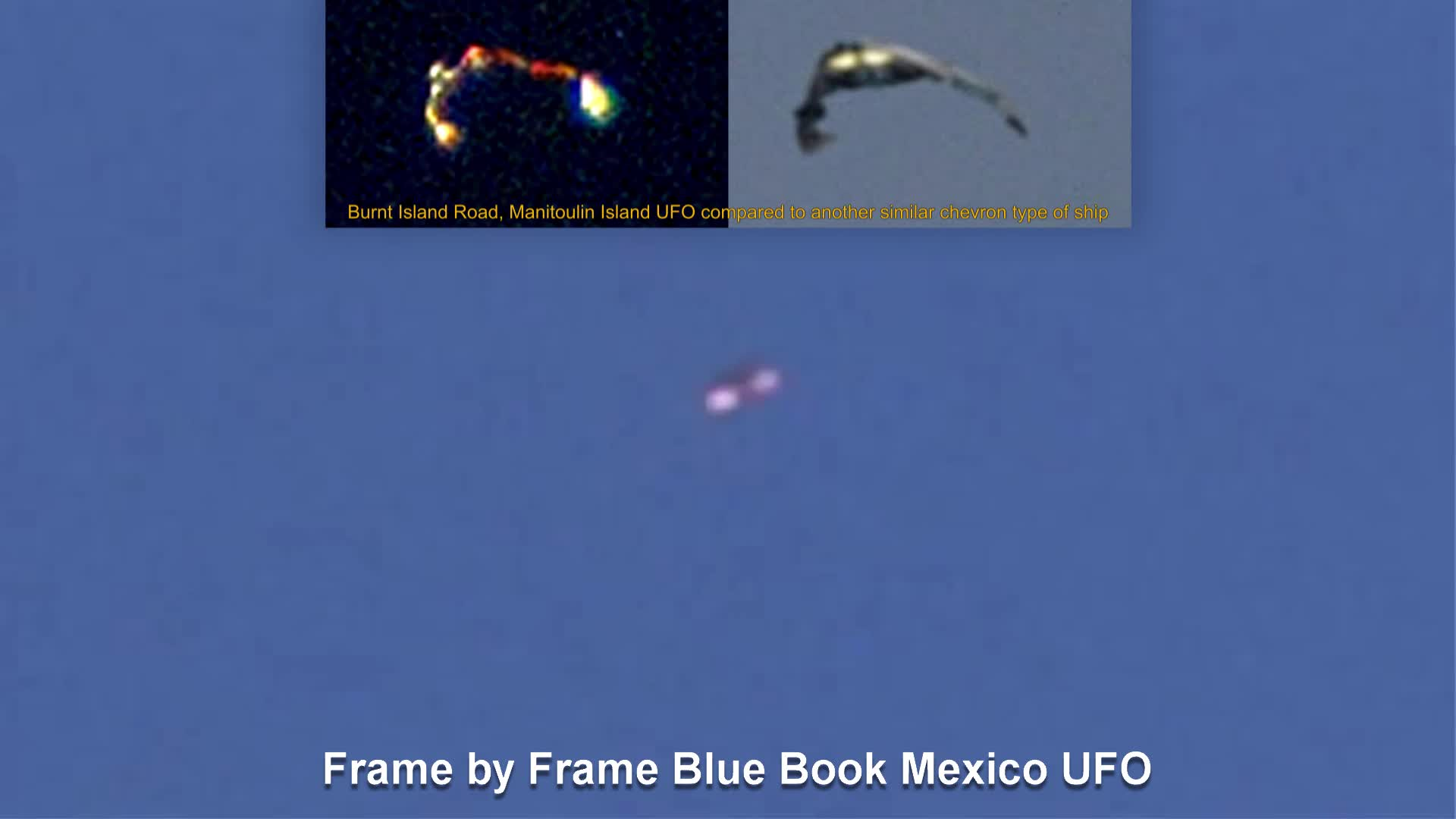 13 UFOs in One Photo