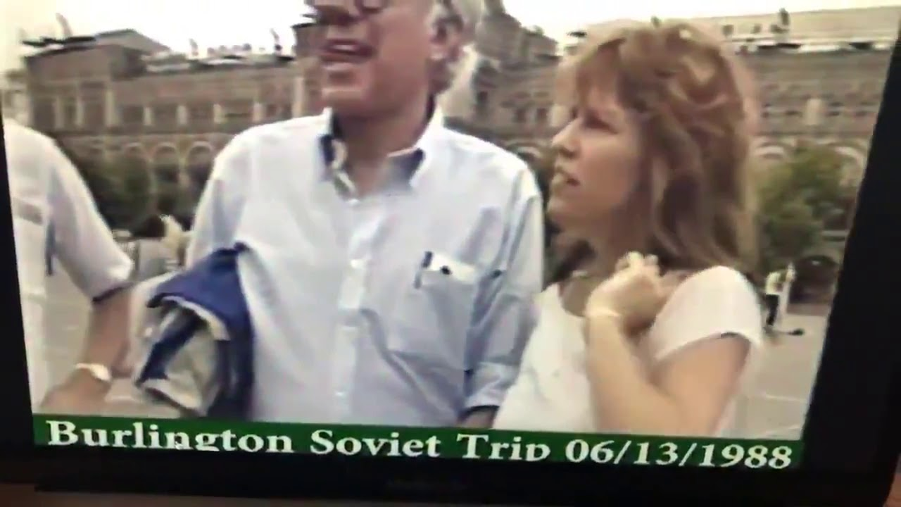 Bernie Sanders Drunk singing This Land Is Your Land with a group of presumed Soviets