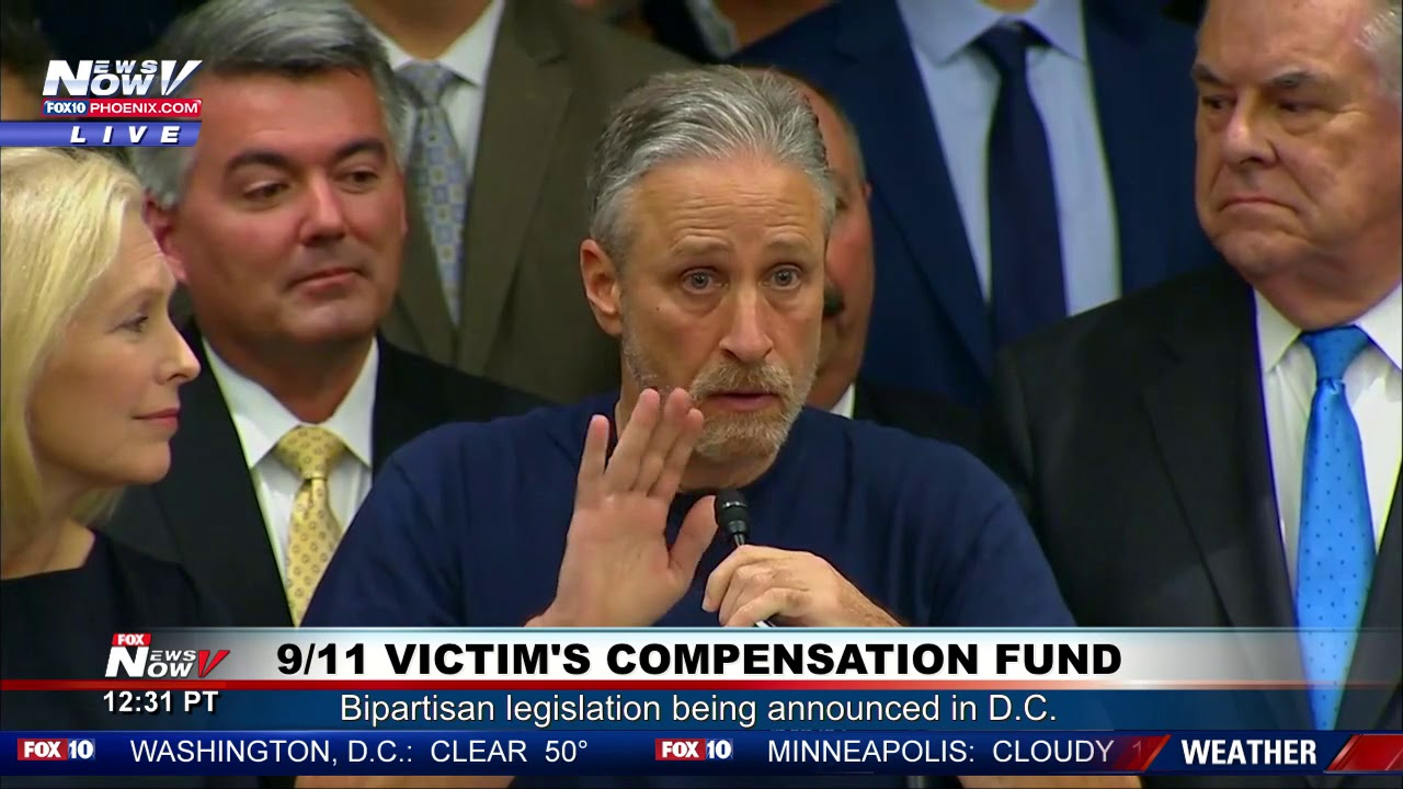 JON STEWART Praises President Trump and DOJ On Handling Of 9/11 Victim's Compensation Fund