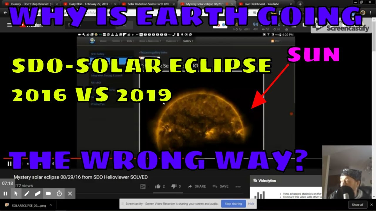 WagsCgo Rewind -Is the SDO A1A SOLAR ECLIPSES GOING THE WRONG WAY? 02-19-2019