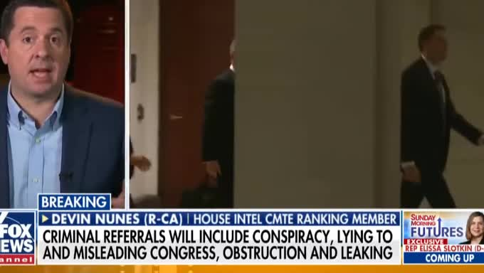 Y~T BANNED THIS WORLDWIDE ! Devin Nunes Prepared to send 8 criminal referrals to AG Barr