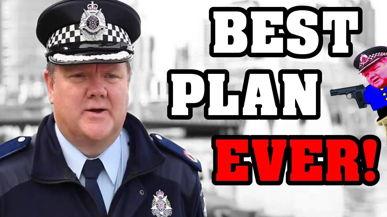 Aussie Police announce FOOLPROOF Plan to END CRIME Forever!