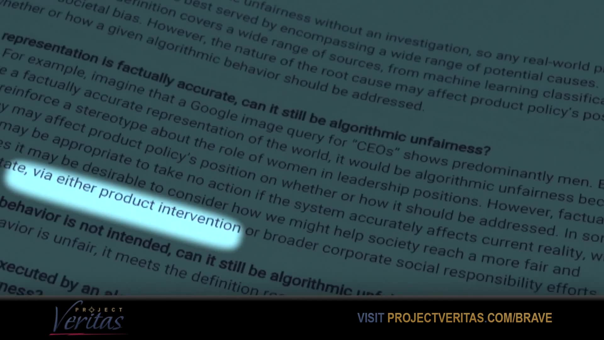 Project Veritas Insider Blows Whistle u0026 Exec Reveals Google Plan to Prevent youtube took it down !