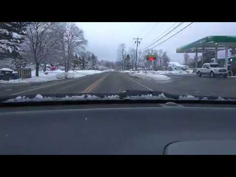 Winter Storm Riley, Bath, NY Part 2