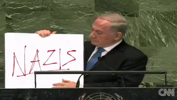 BENJAMIN NETANYAHU ADDRESSES ALL YOU RACIST ANTI-SEMITES