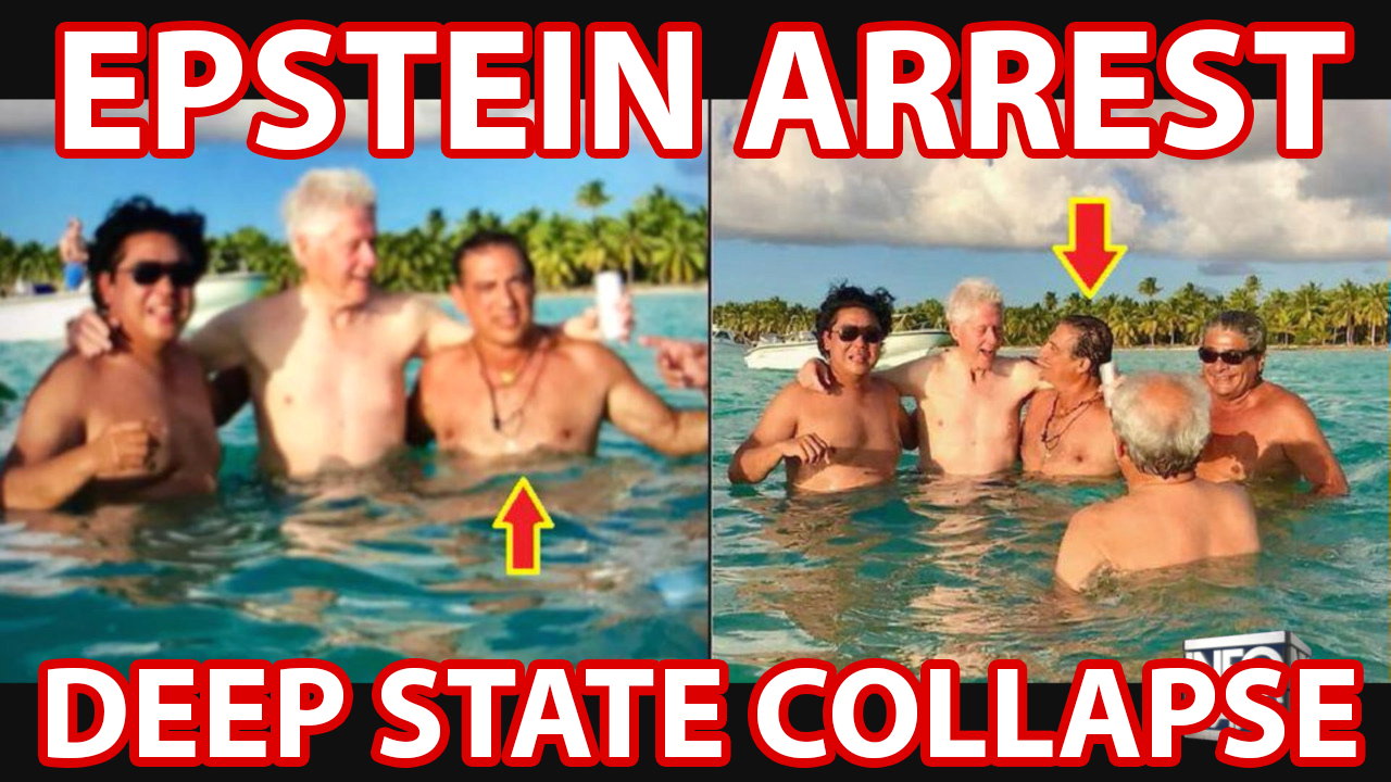 Trump Strikes Back! Epstein Arrest Will Trigger Collapse Of Deep State
