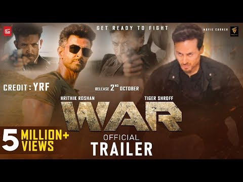 WAR Movie Trailer | Hrithik Vs Tiger Movie | Hrithik Roshan, Tiger Shroff, Hrithik Vs Tiger Trailer