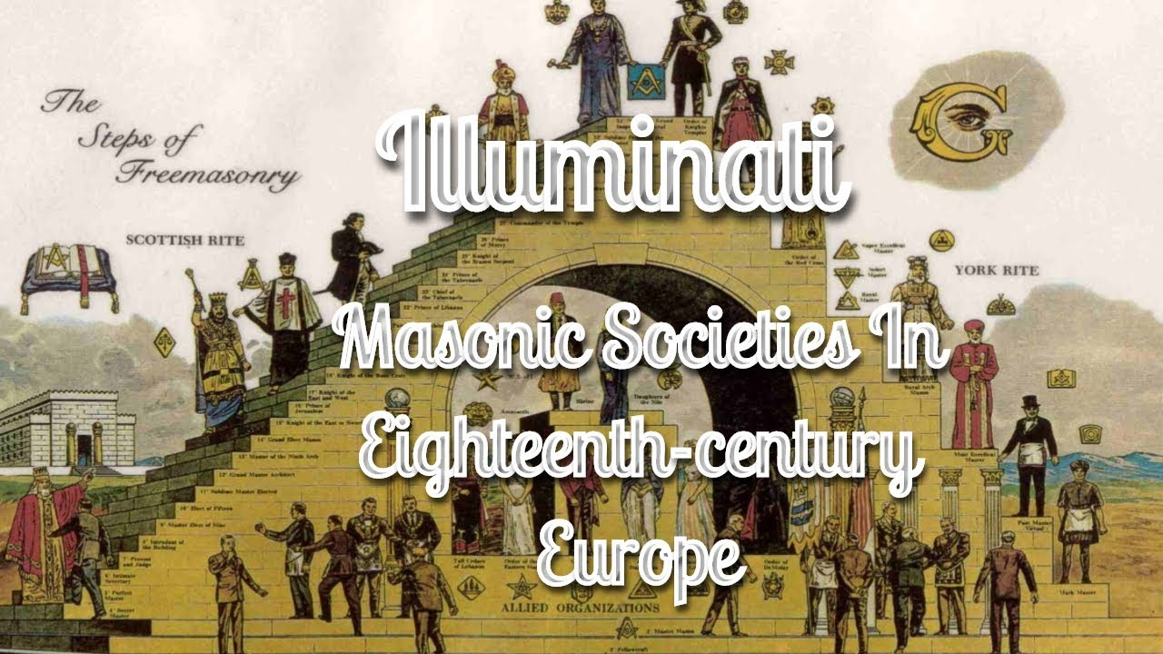 The Illuminati: Masonic Societies In Eighteenth-century Europe By Manly P. Hall 2/5