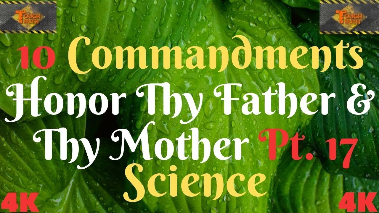 TEN COMMANDMENTS: HONOUR THY FATHER AND THY MOTHER PT. 17
