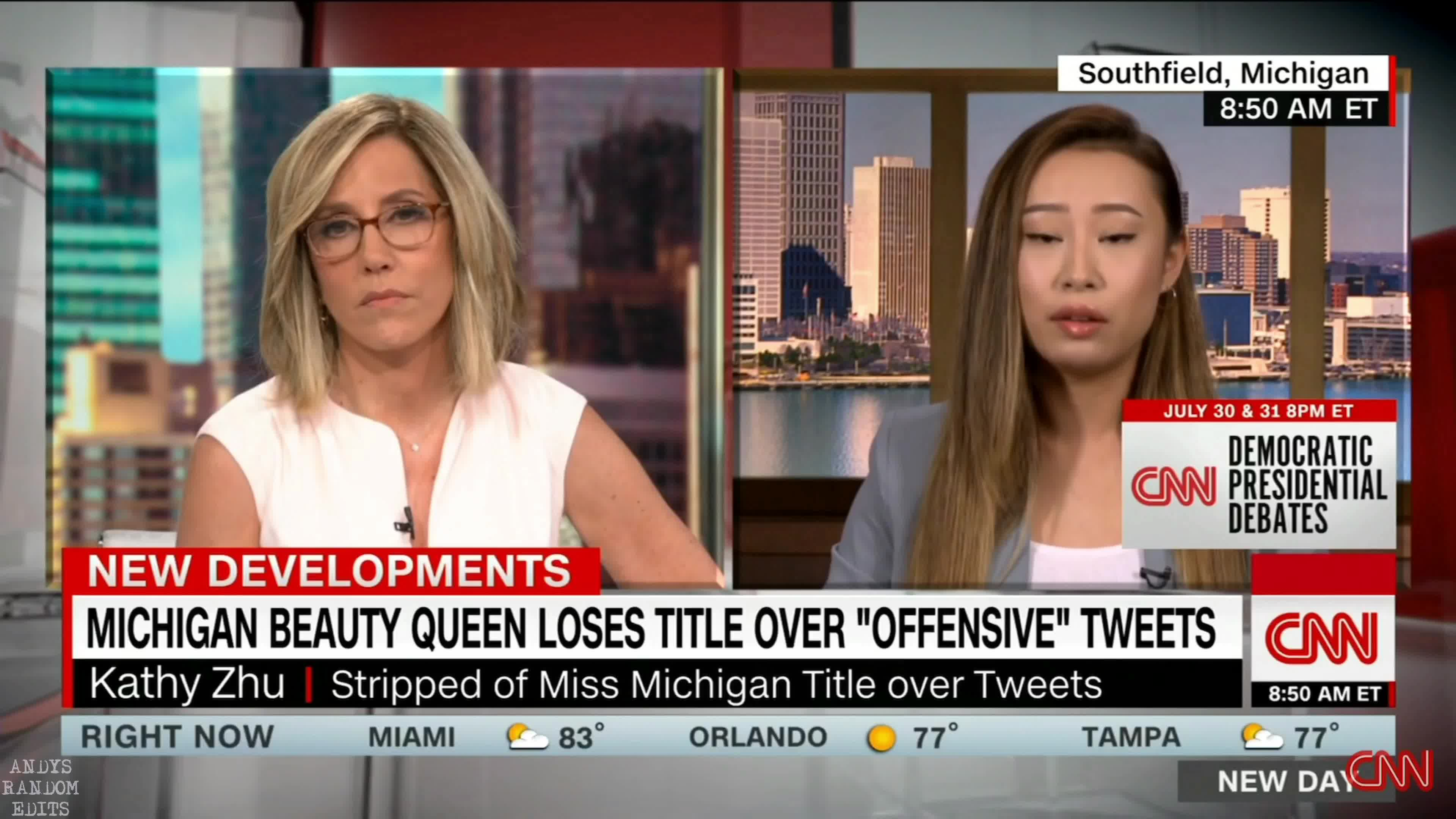 KATHY ZHU ON CNN