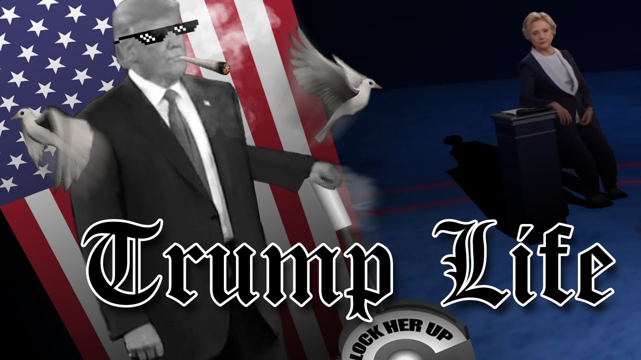 The Ultimate Trump Thug Life - Because You'd Be in Jail