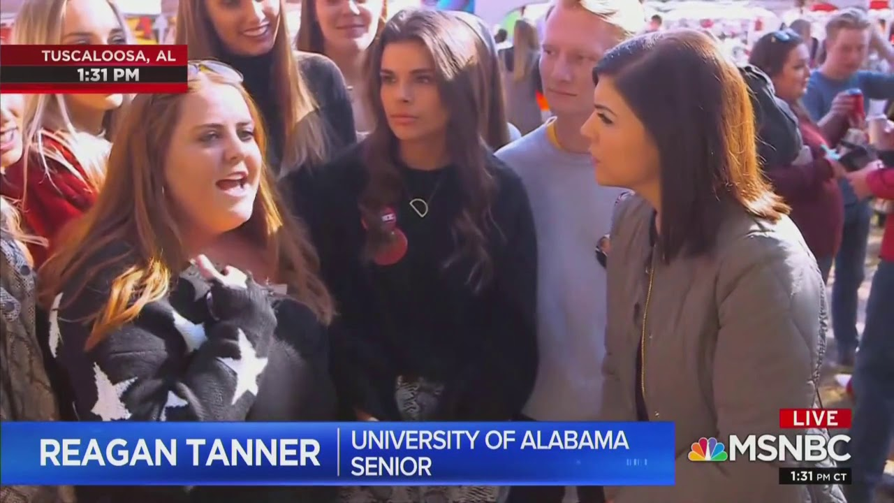 Alabama Student Says 'Jeffrey Epstein Didn't Kill Himself' Live On MSNBC