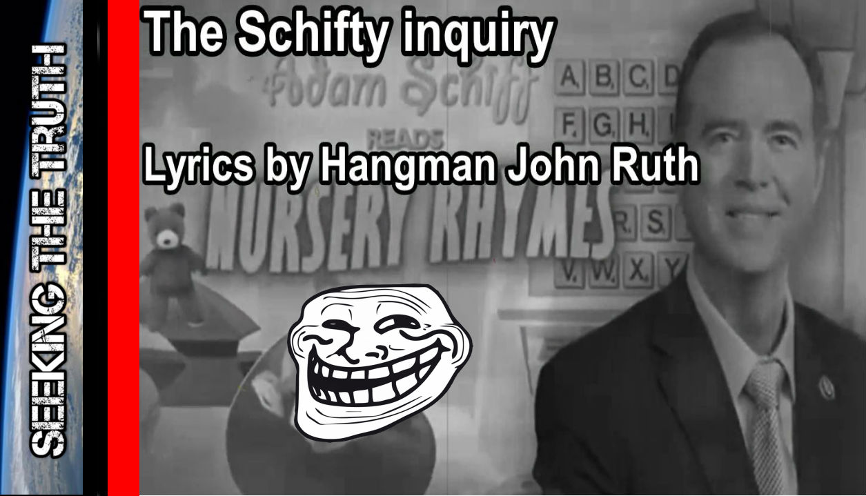 The Schifty Inquiry - Adam Schiff Parody with Addams Family Theme Song Spoof