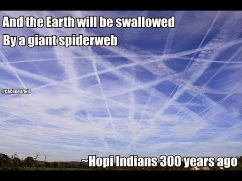 (MIRROR) RFB  - HOPI PROPHECY COMES TRUE: SPIDERWEBS FROM THE SKY.