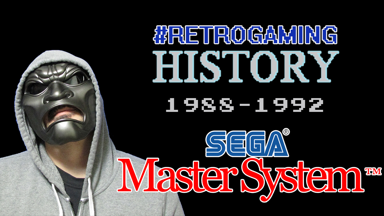 My #RetroGaming History [Ep 2][Sega Master System] #DPadGaming