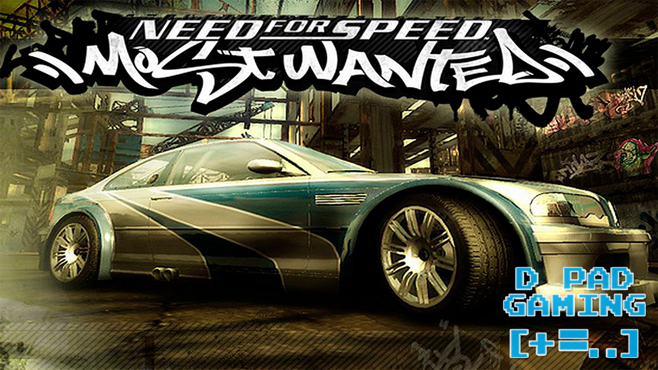 Nintendo GC Need for Speed: Most Wanted Intro