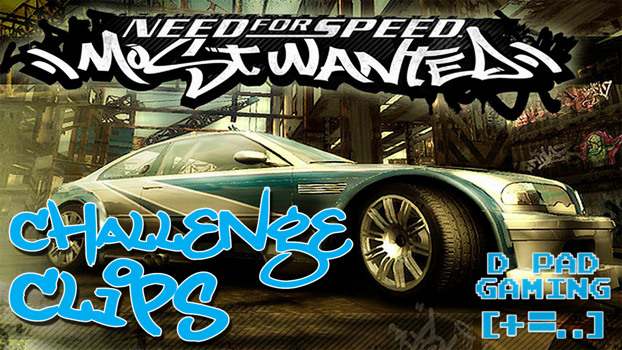 GC NFS: Most Wanted Challenge Clips