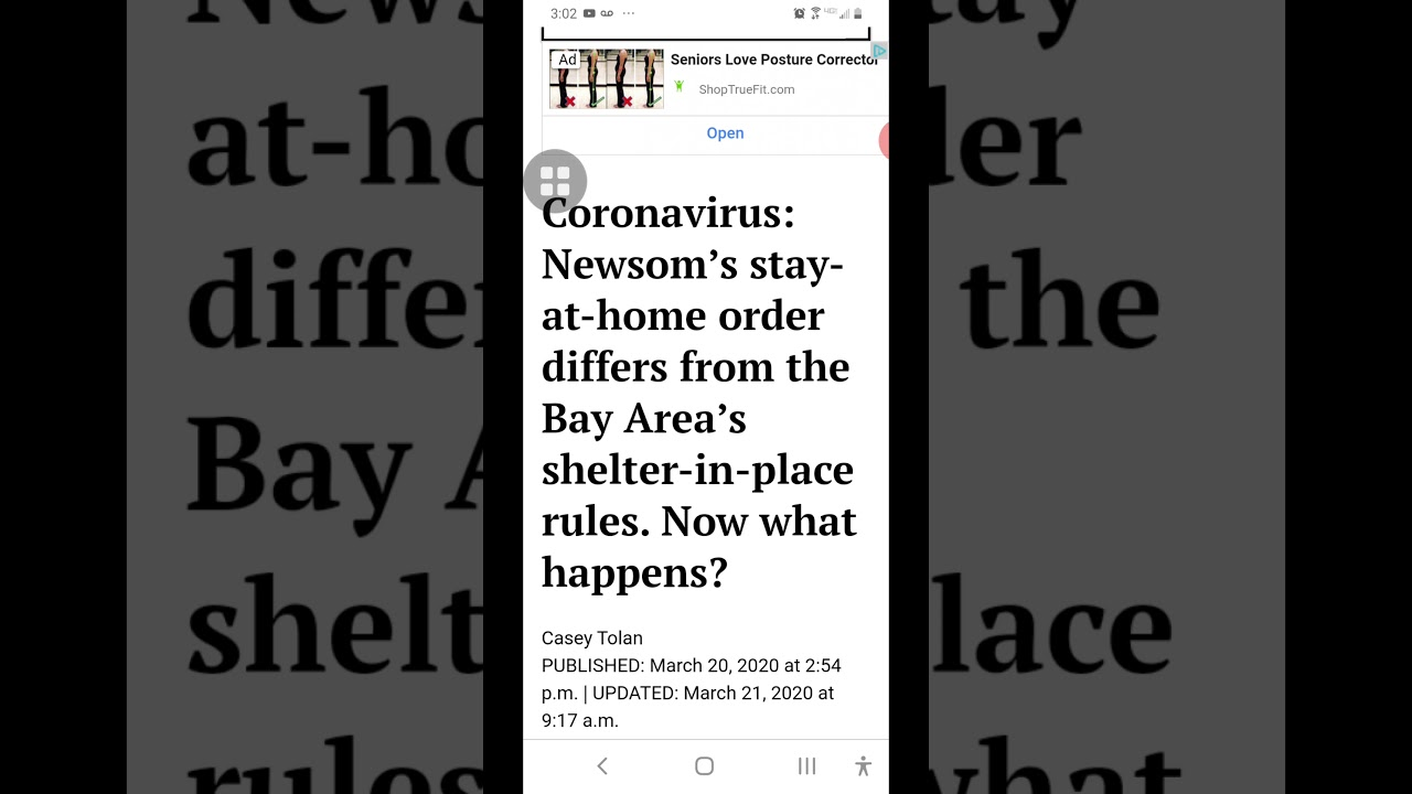 Shelter in Place & the Trump dance with Fauci and COVID 19 Commentary 3/21/20