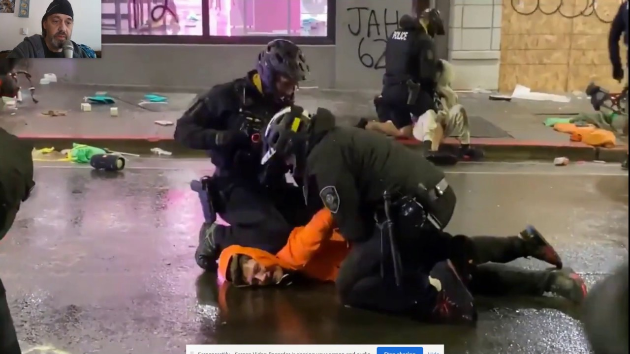 Chicago area Police still using the knee-Crush Neck move During Riots for same ABUSE? 5/31,20 2:20