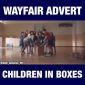 Wayfair commercial glorifying human trafficking