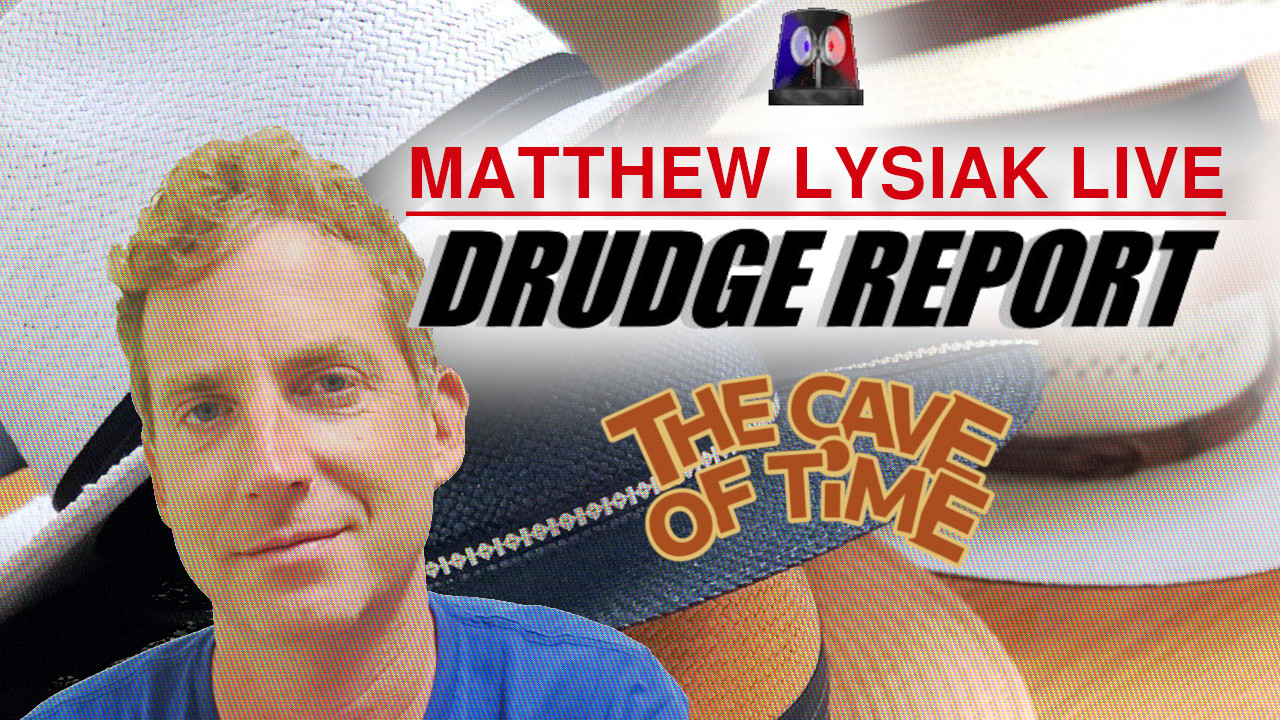 𝑮𝒖𝒆𝒔𝒕: Matthew Lysiak 🗡️ Is This a Drudge Report I See Before Me?